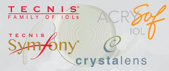 Tecnis Family of IOL's \ Crysalens | AcrySof IOL | Tecnis Symfony